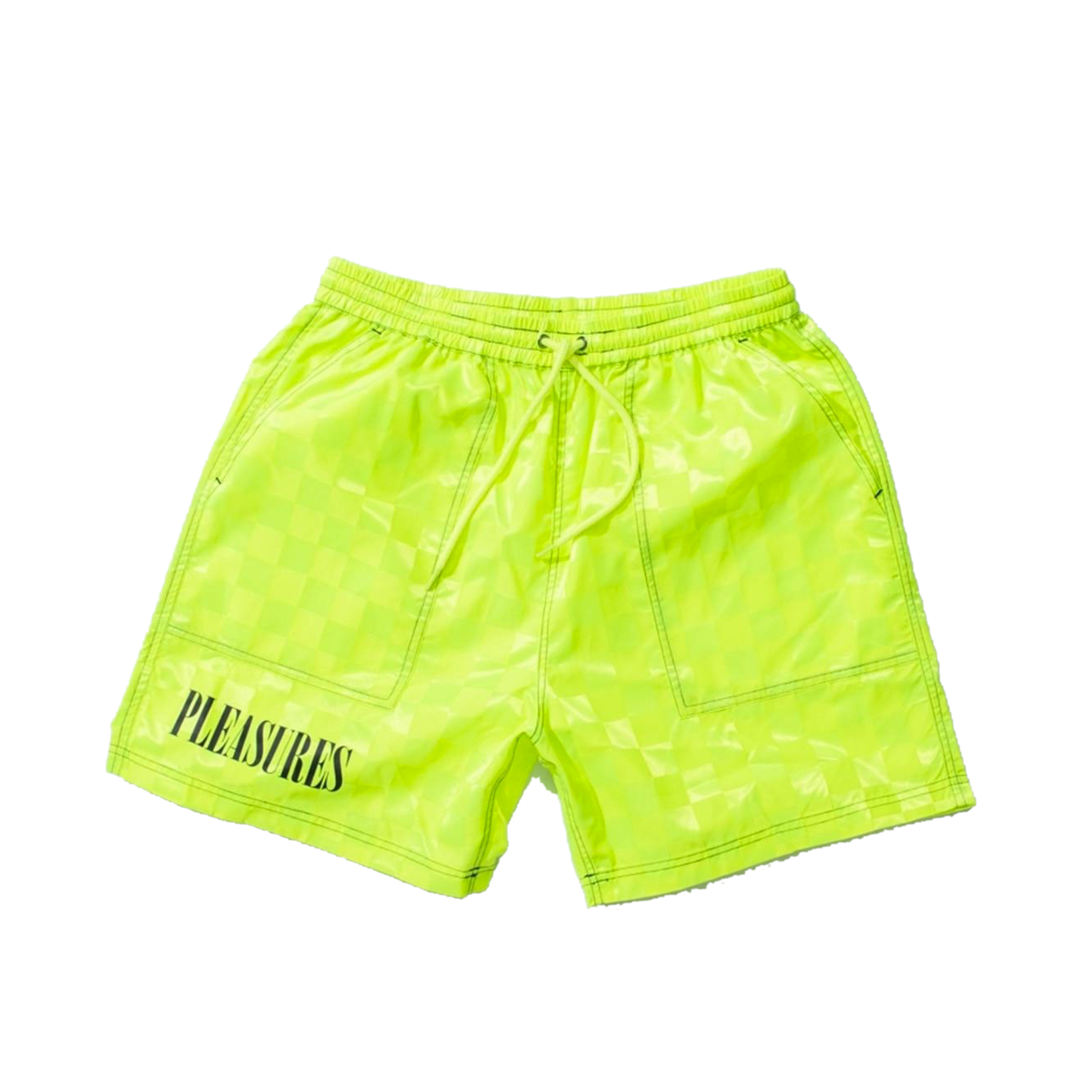 Szorty Pleasures BPM Shorts Neon