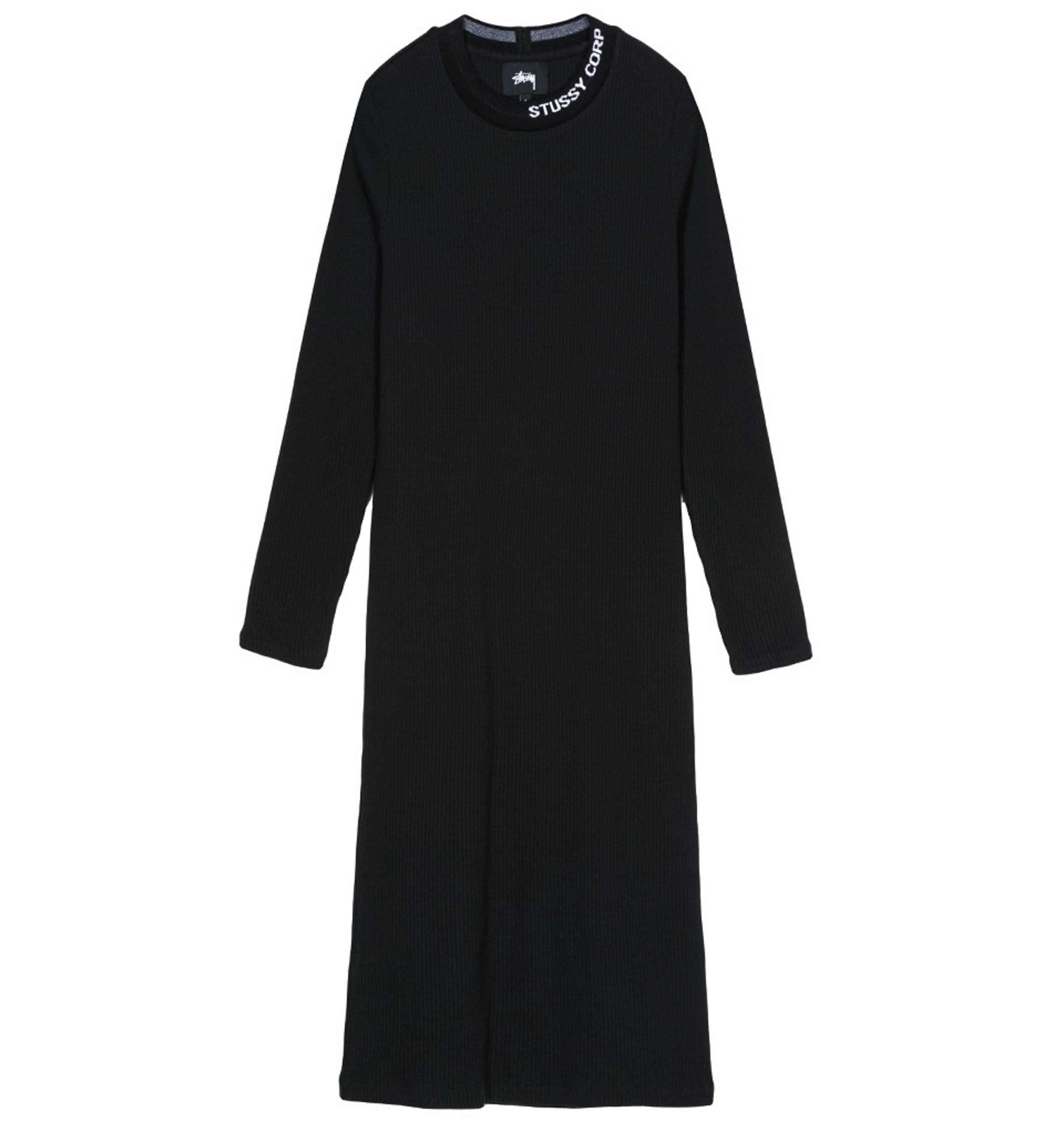 Stussy Temple LS Rib Dress Black