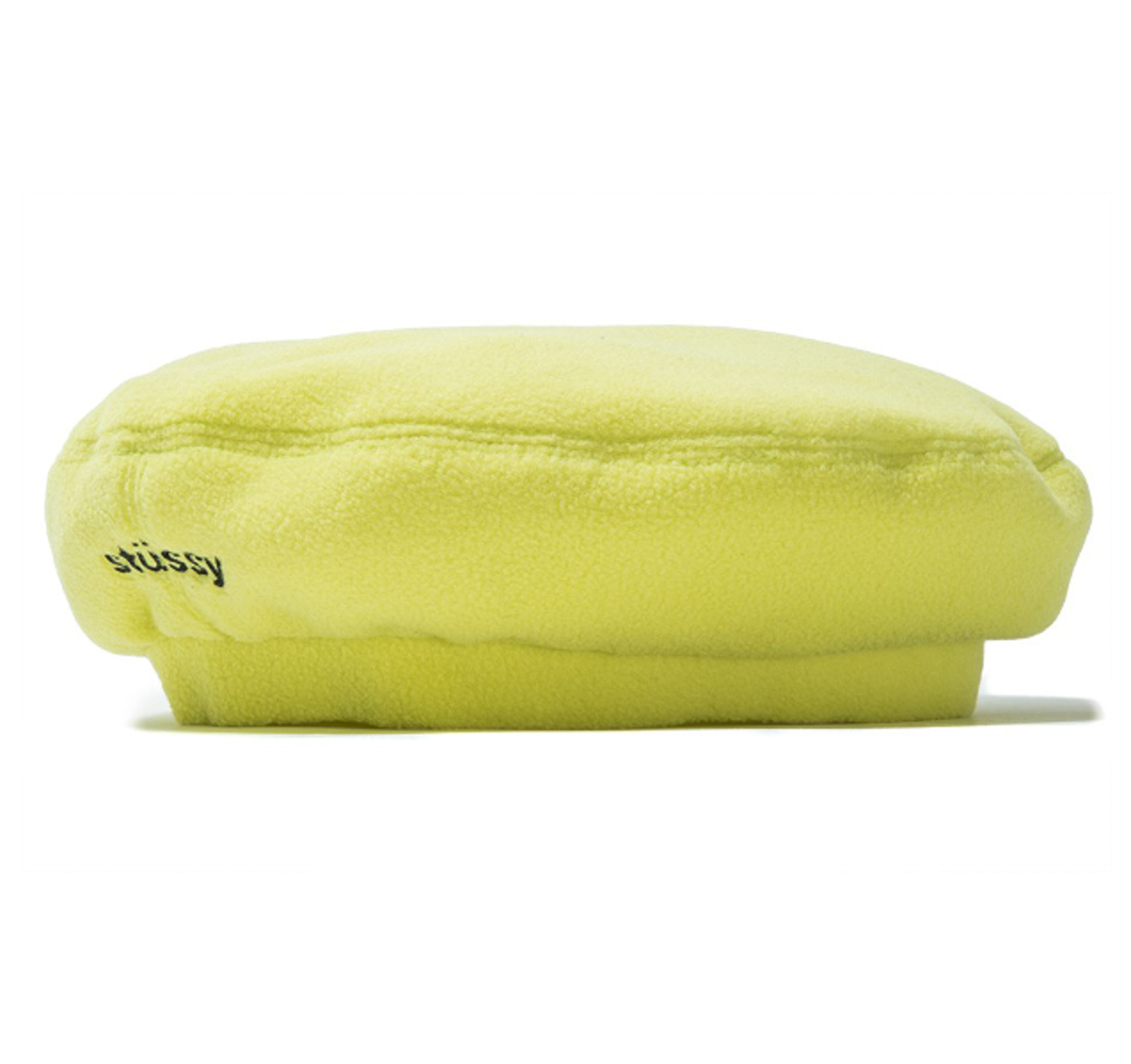 Stussy Bristol Polar Fleece Beret Lime