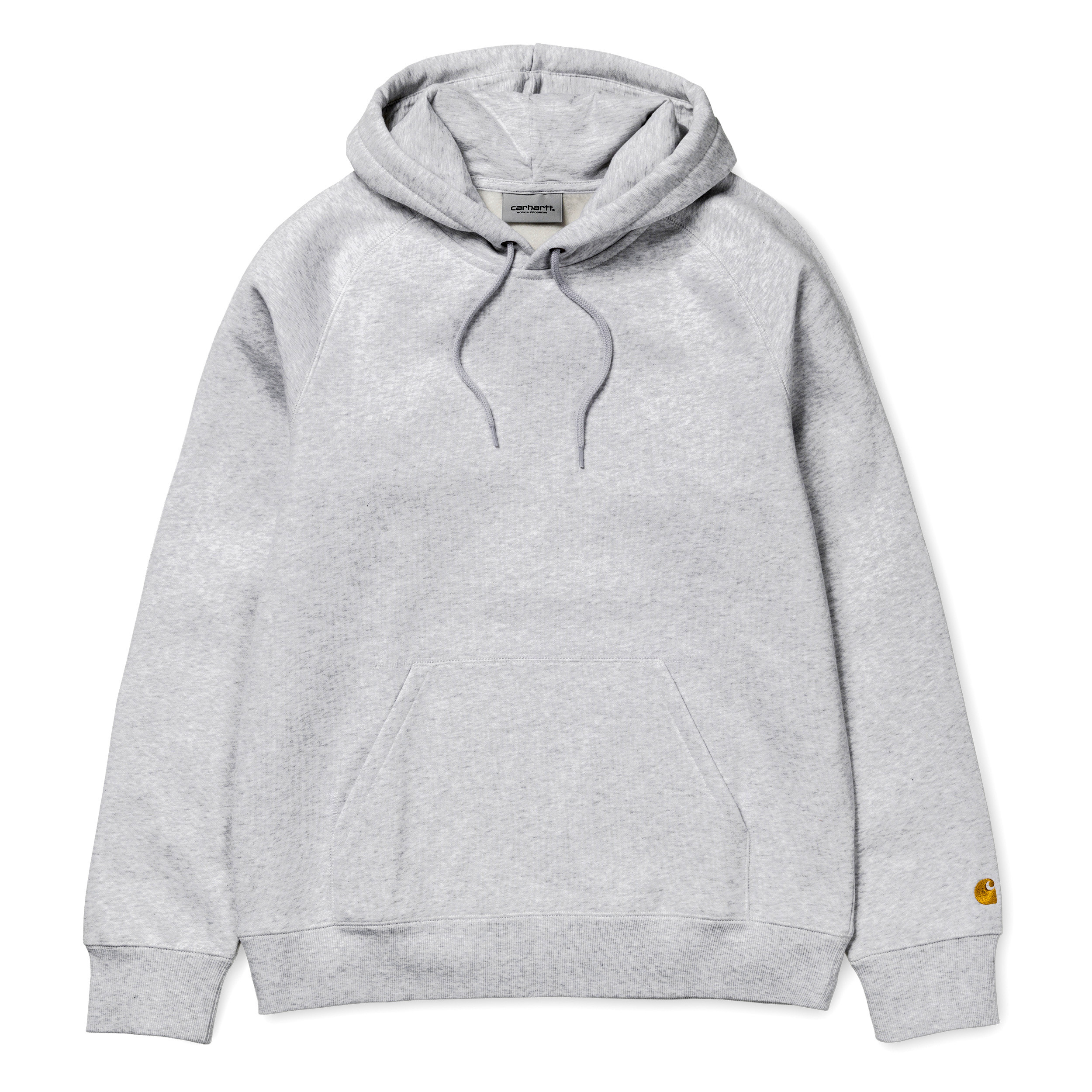 Carhartt Hooded Chase Sweat Grey Heather