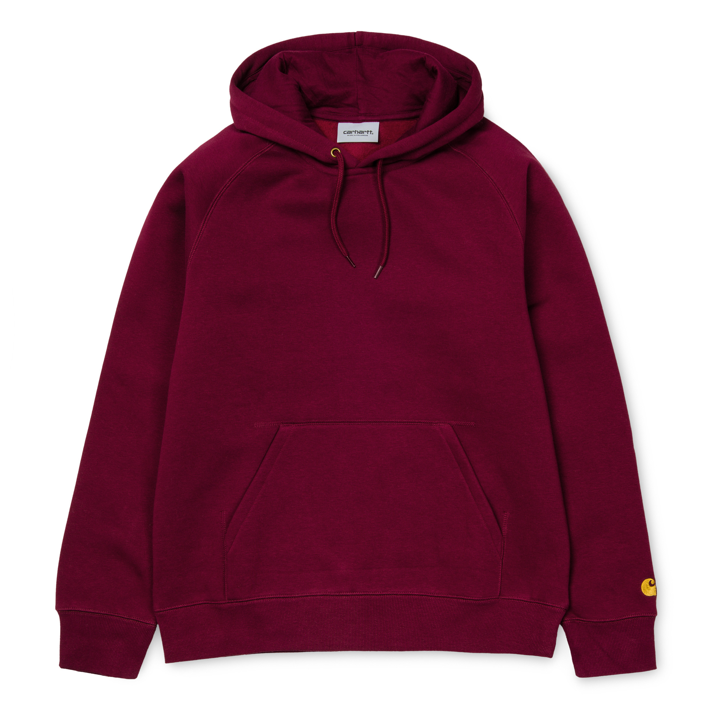 Carhartt Hooded Chase Sweat Mulberry