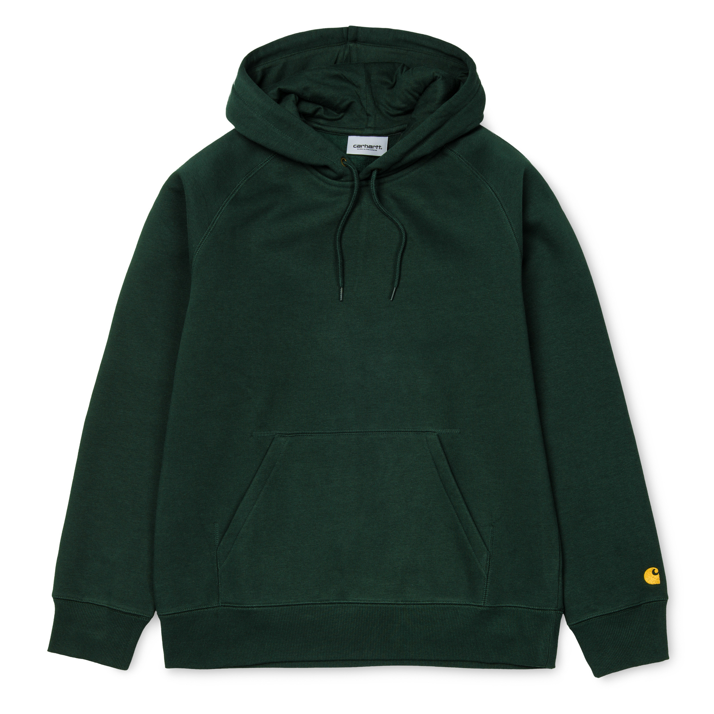 Carhartt Hooded Chase Sweat Bottle Green