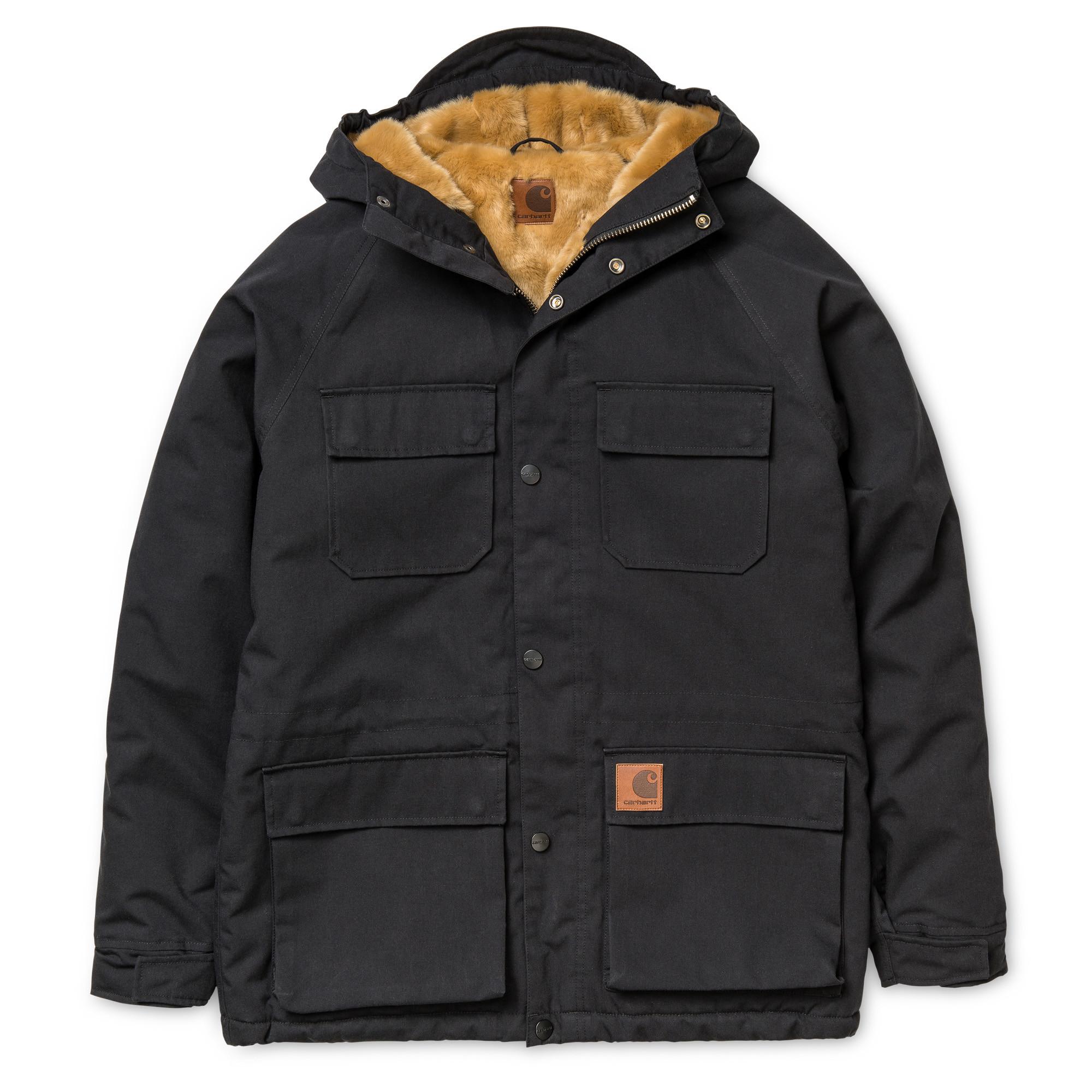 Kurtka Zimowa Carhartt Mentley Jacket Black