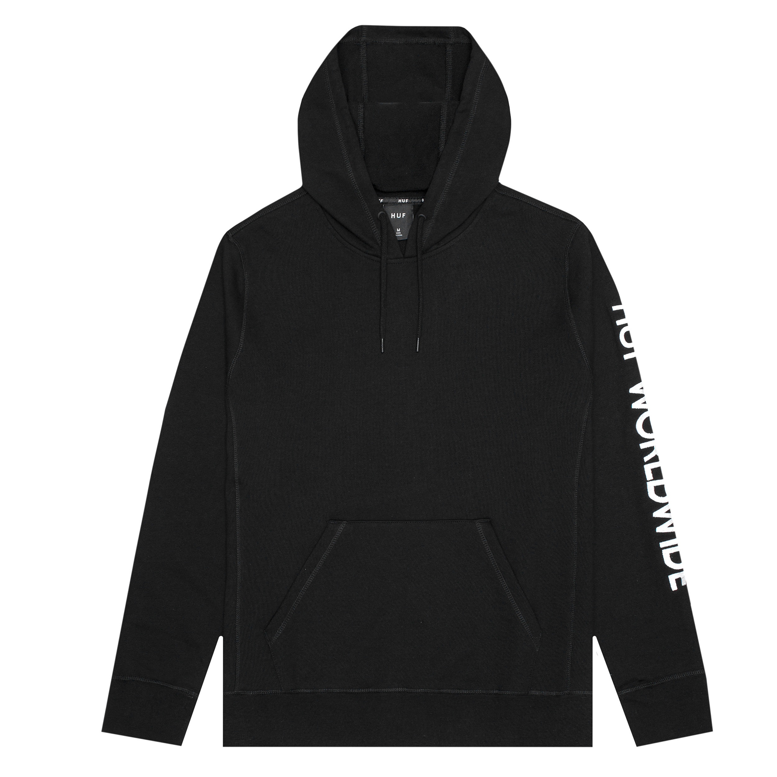 HUF Mission Hooded Sweatshirt Black
