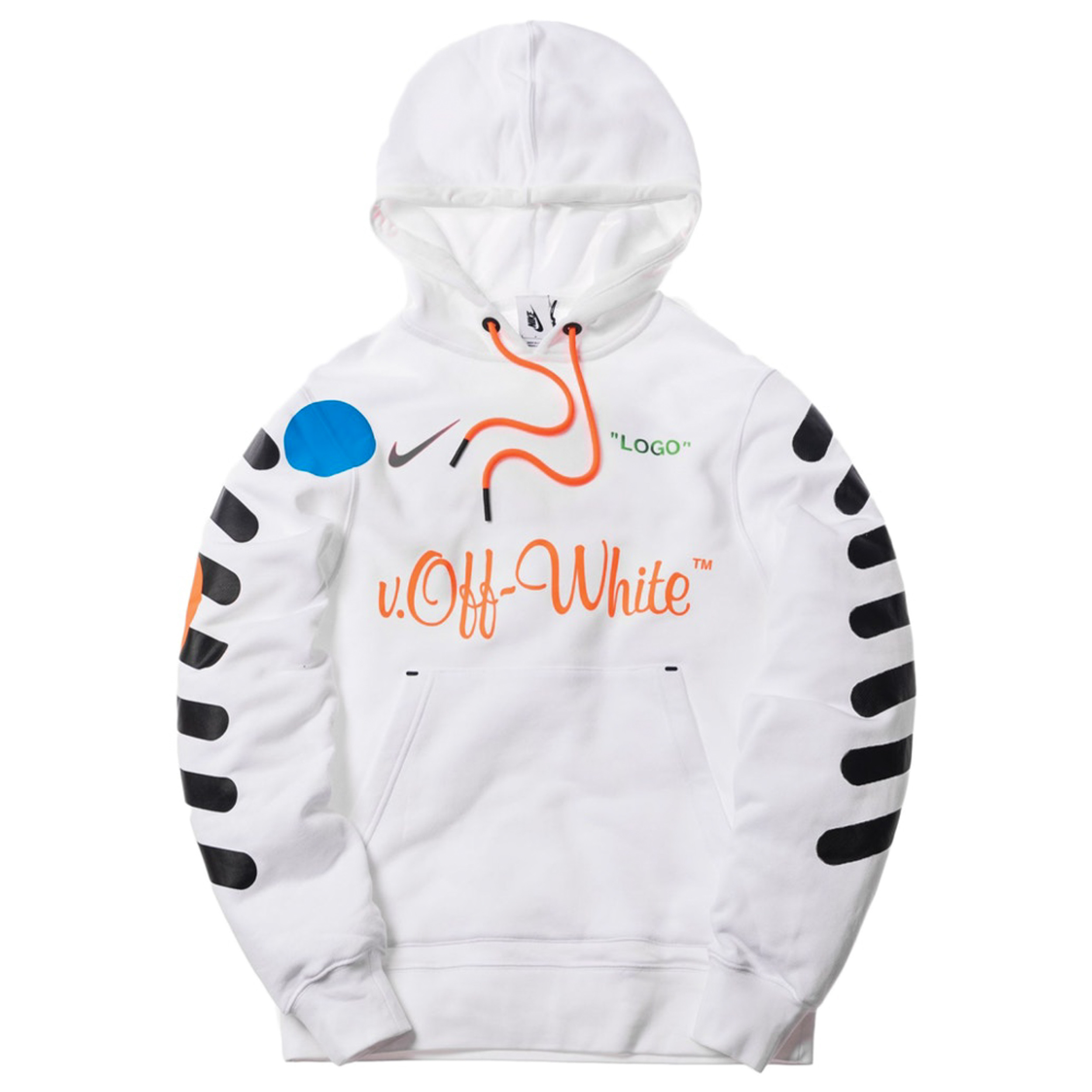 OFF-WHITE x Nikelab Mercurial NRG X Hoodie White
