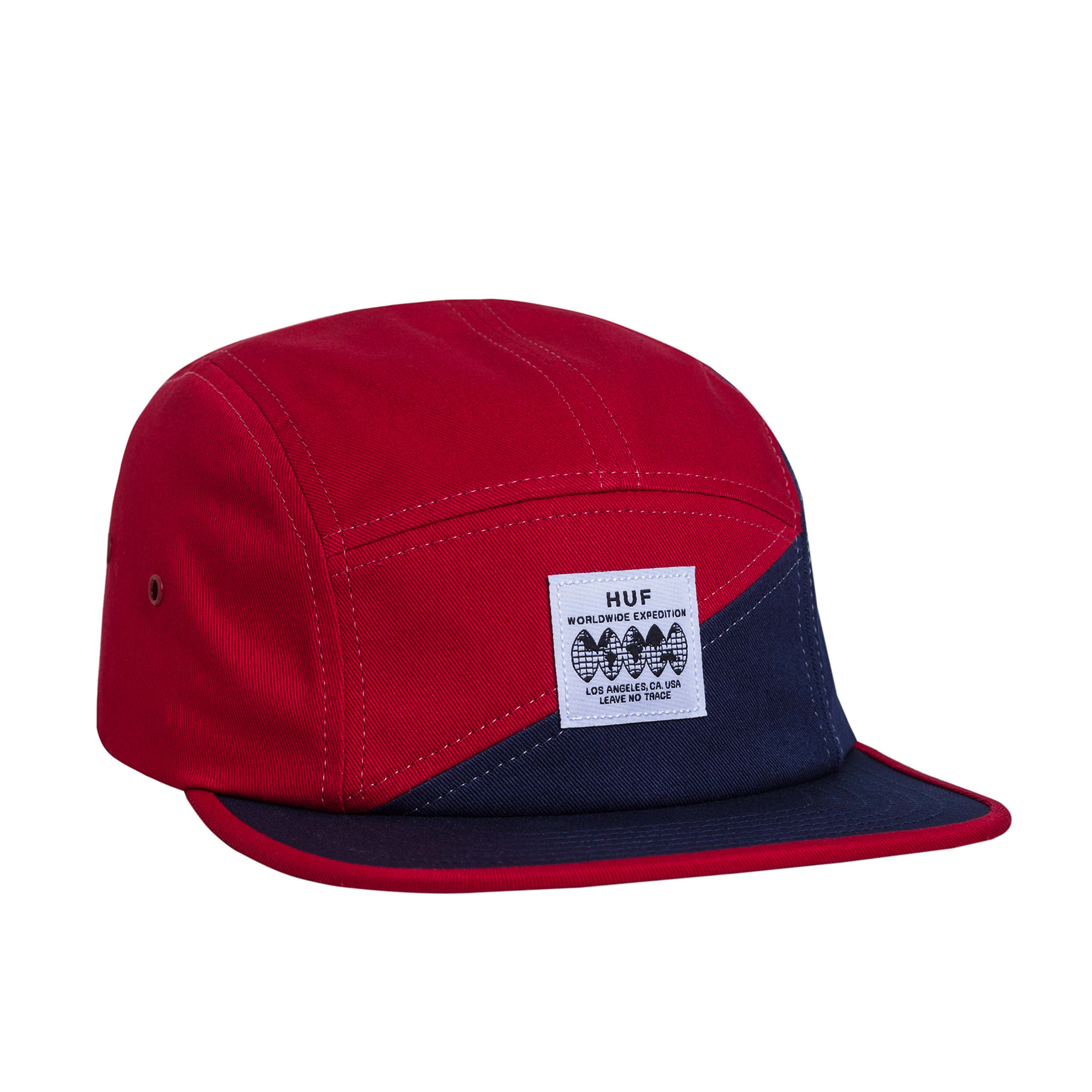 HUF No Trace Volley 5 Panel Scarlet