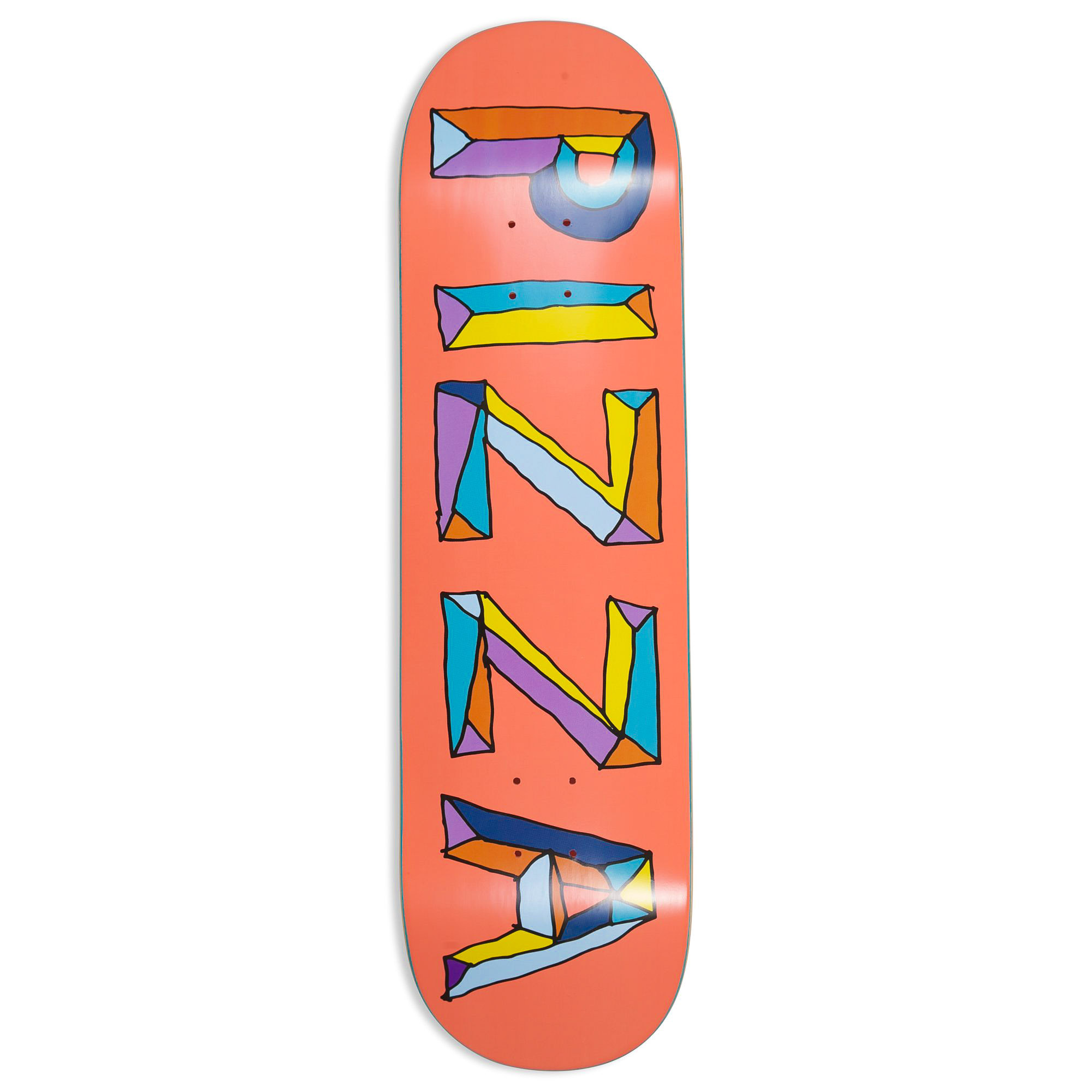 Pizza Skateboards Stained Glass Deck 8.5""