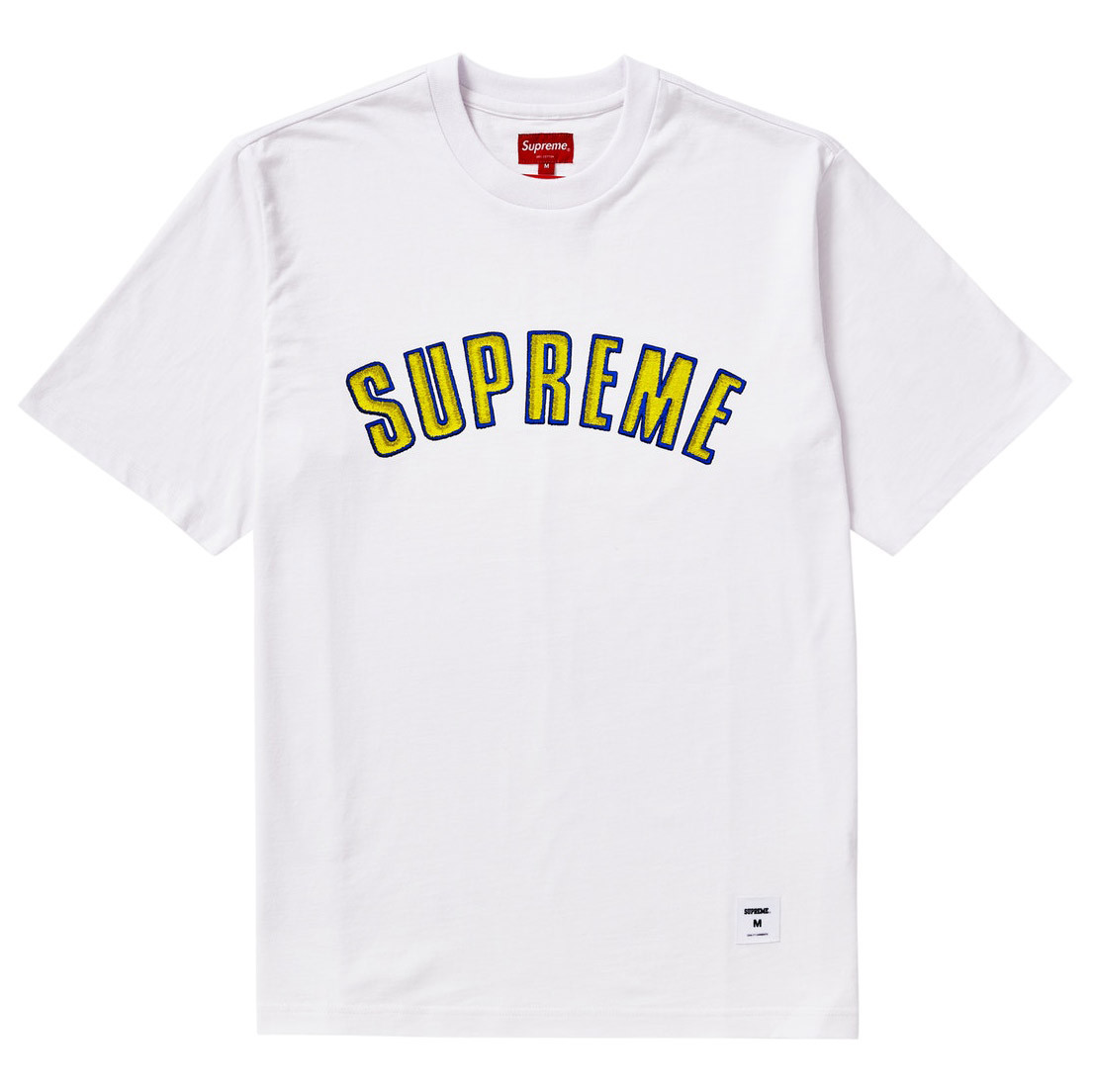 Supreme Printed Arc S/S Top White