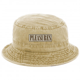 Pleasures Spank Bucket Hat Washed Khaki Denim
