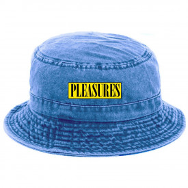 Pleasures Spank Bucket Hat Washed Blue Denim