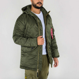 Kurtka Zimowa Alpha Industries N3-B PM Jacket Dark Green