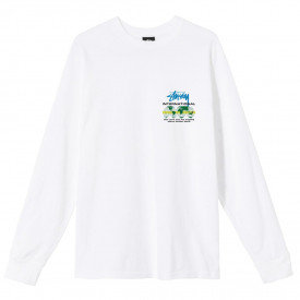 Stussy International LS Tee White
