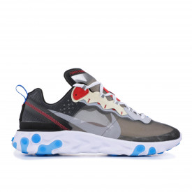 Nike React Element 87 Dark Grey Photo Blue