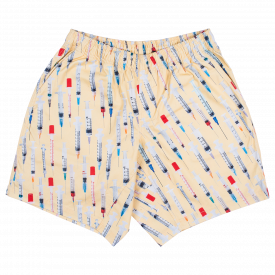 Szorty Pleasures Beverly Twill Shorts Tan