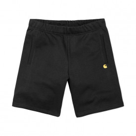 Carhartt Chase Sweat Shorts Black