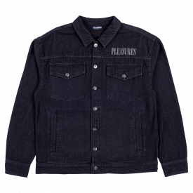 Pleasures Desire Trucker Jacket Black