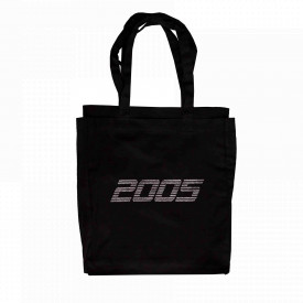 2005 Double Layered Tote Bag Black