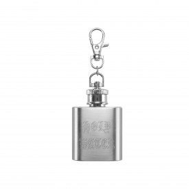 HUF Holy Water Keychain Silver
