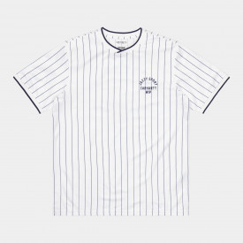 Carhartt WIP x RELEVANT PARTIES S/S Jazzy Sport Jersey White Stripes