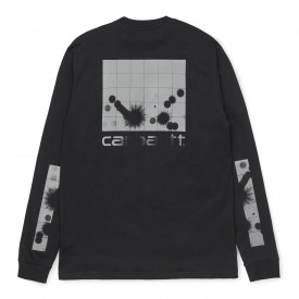 Carhartt WIP L/S Reflective Headlight T-Shirt Black