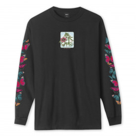 HUF Monarch Long Sleeve T-Shirt Black