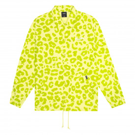 Kurtka HUF Neo Leopard Coach Jacket Hot Lime