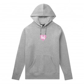 Bluza HUF Plastic Heart Hoodie Grey Heather