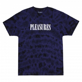 Pleasures Aroma Crystal Dye T-Shirt Black Purple