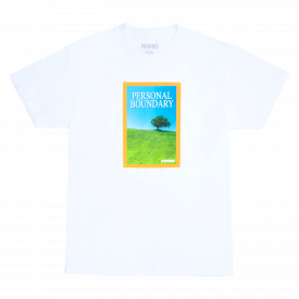 Pleasures Boundry T-Shirt White
