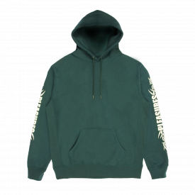 Bluza Pleasures Razor Logo Hoody Green