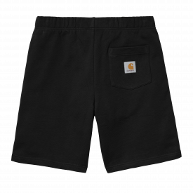 Carhartt WIP Pocket Sweat Shorts Black