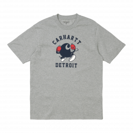 Carhartt WIP S/S Boxing T-Shirt Heather Grey