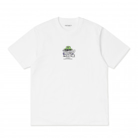 Carhartt WIP S/S Everything Is Awful T-Shirt White