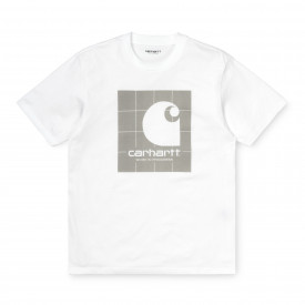 Carhartt WIP S/S Reflective Square T-Shirt White