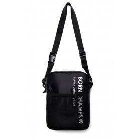 Born Champs Net Shoulder Bag Black