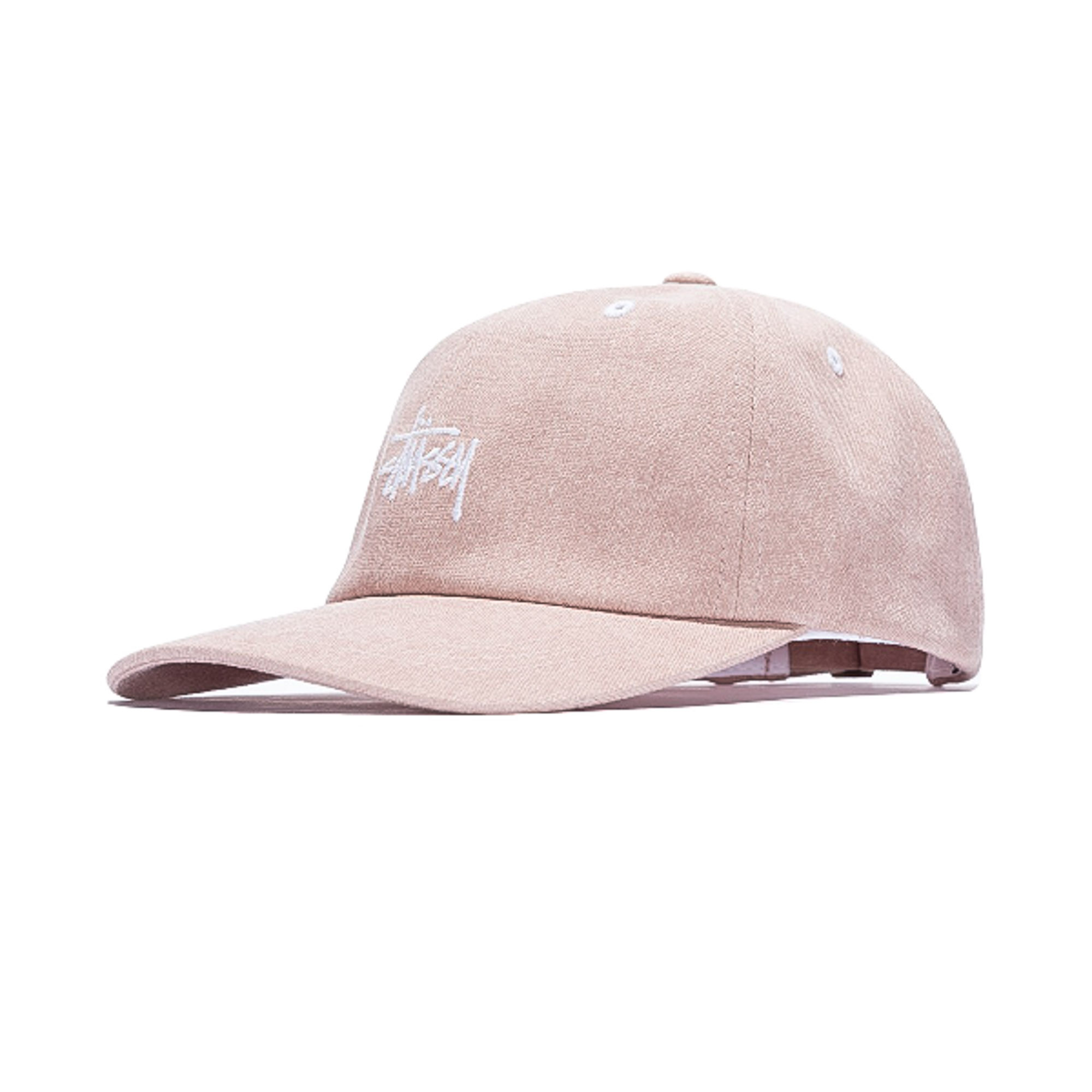 Stussy Washed Stock Low Pro Cap Pink 0a8557f502b